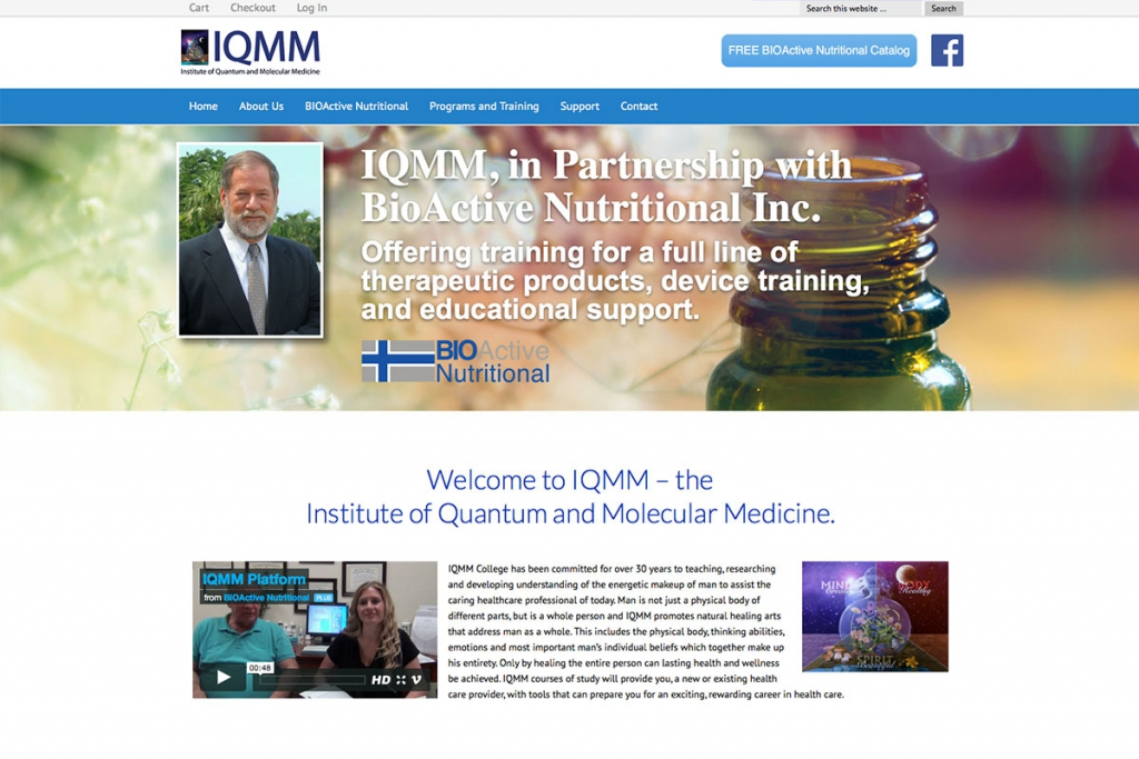 institute-quantum-molecular-medicine-website